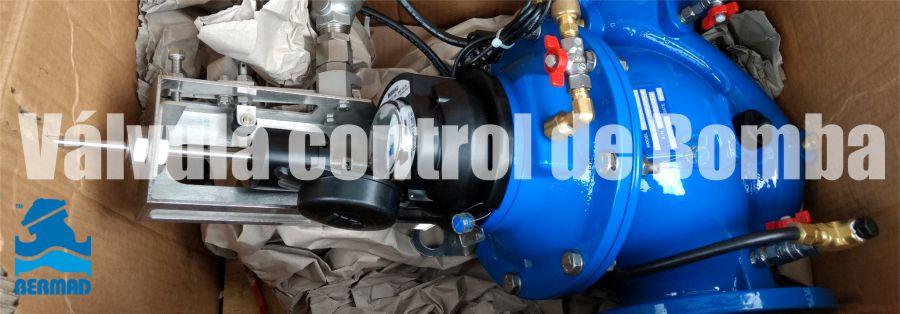 VÁLVULA DE CONTROL DE BOMBA BERMAD 740