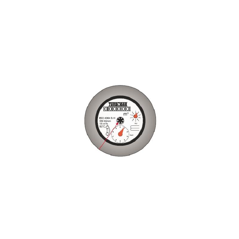Medidor WPH-40-500, Turbina Woltman